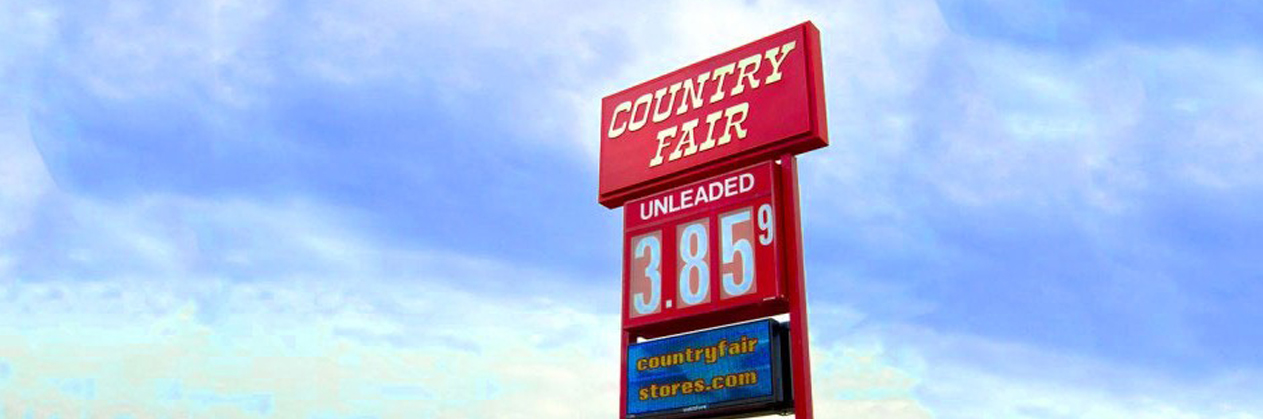 Country fair sign